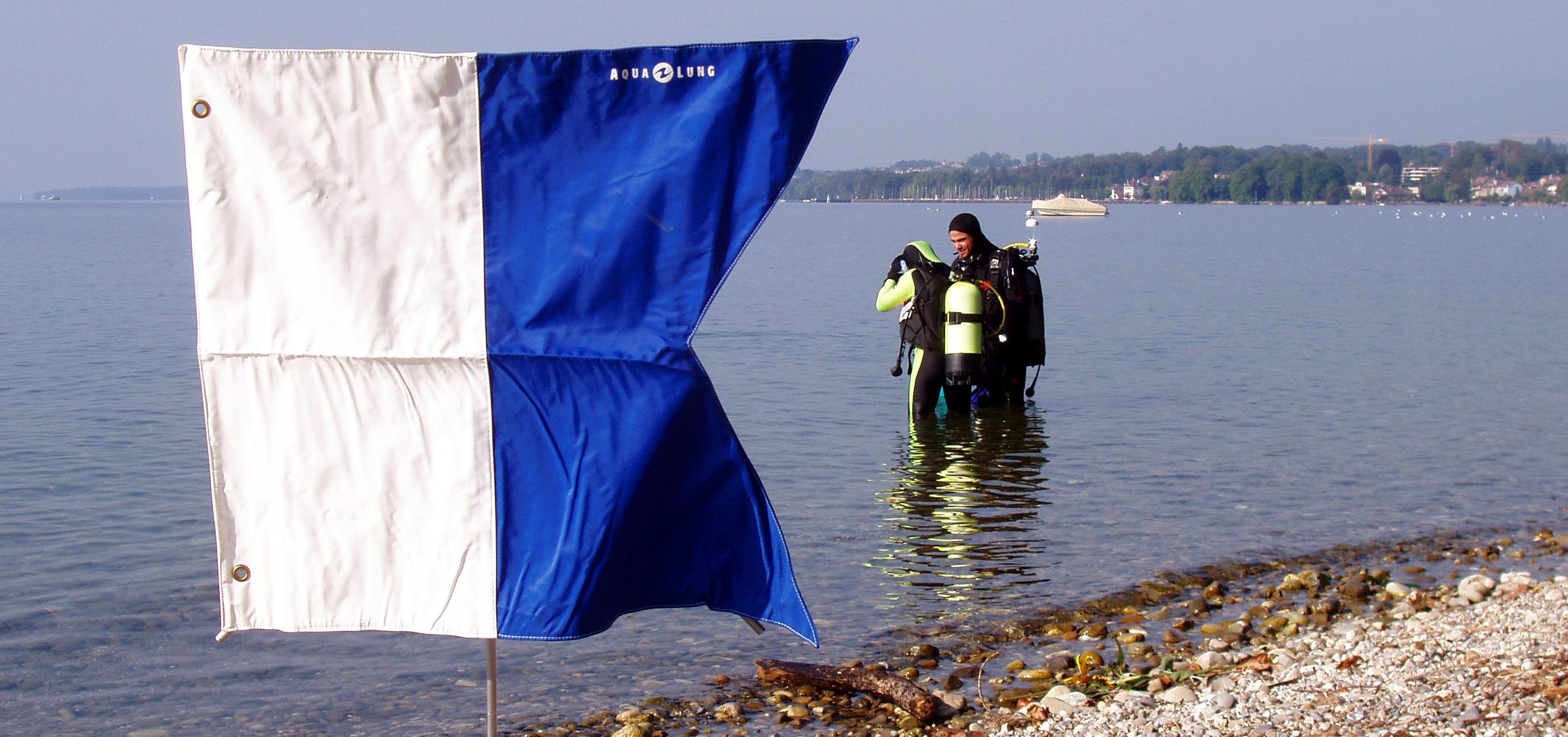 Plongeur à Aubonne